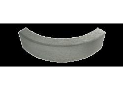 Cordolo rettangolare curvo 45° 8:8