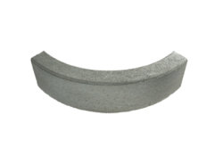 Cordolo rettangolare curvo 90° 10:10