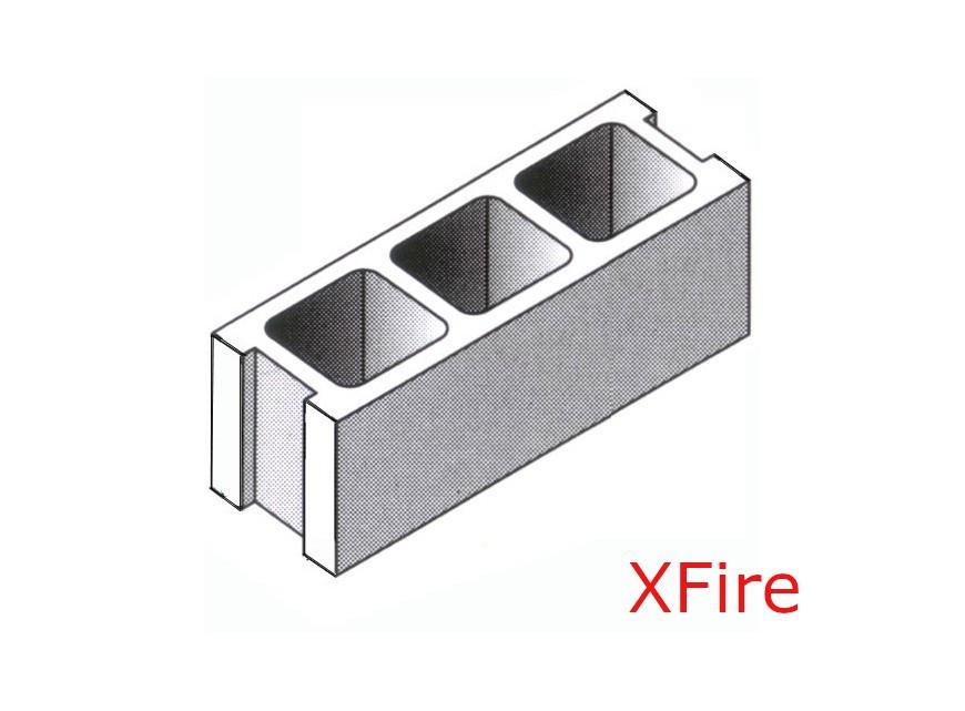Blocco CLS XFire 25X20X50