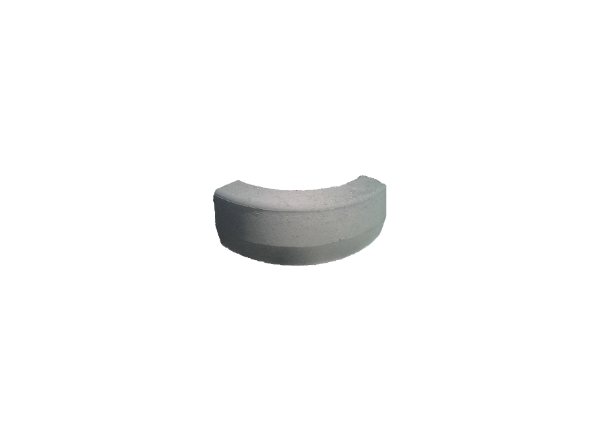Cordolo trapezoidale curvo 90° 8:10